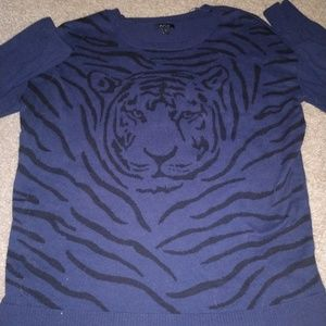 Apt 9 Tiger Sweater